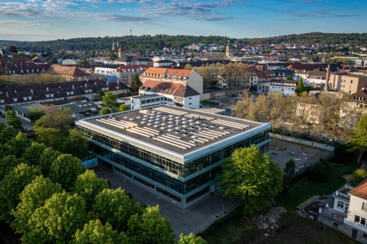 Die Hebelschule liegt im Zentrum von Bruchsal