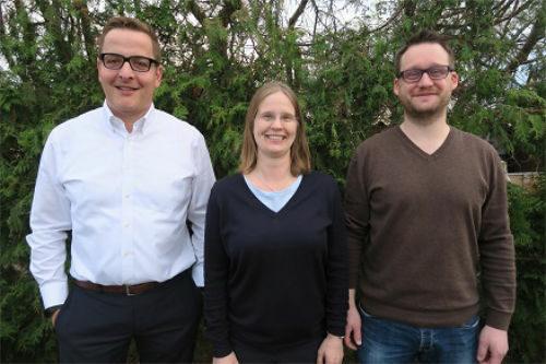 Michael Wittemann, Solveigh Friese, Marcus Lopp (v.l.)